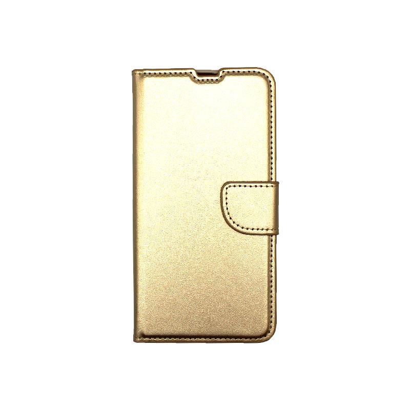 Θήκη Samsung Galaxy A31 Wallet Χρυσό