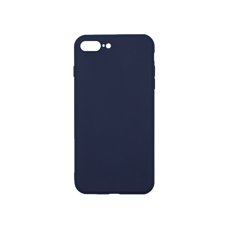 Θήκη iPhone 7 Plus / 8 Plus Σιλικόνη Σκούρο Μπλε