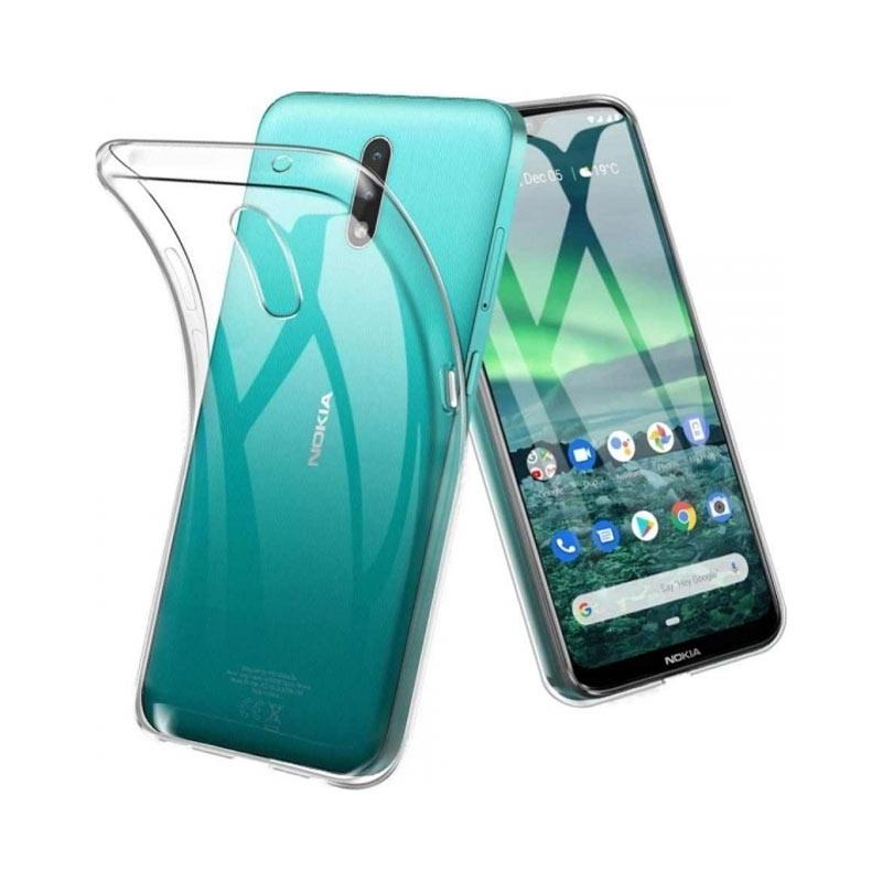 Θήκη Σιλικόνης Διάφανο Nokia 2.3