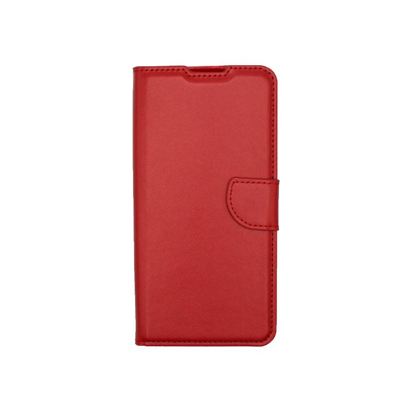 Θήκη Xiaomi Redmi 9 Wallet Κόκκινο