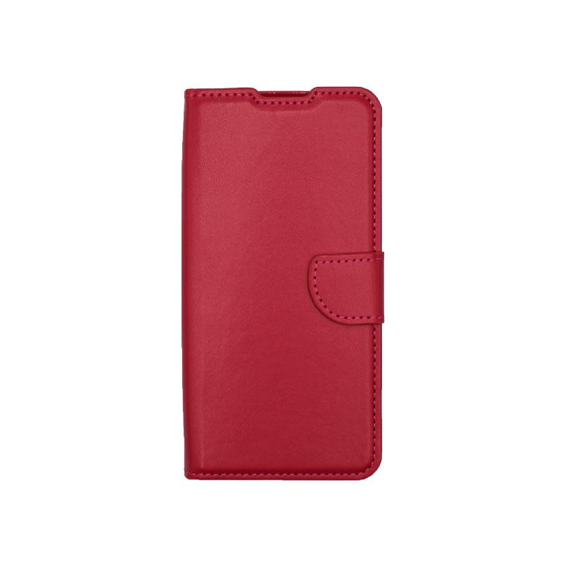 Θήκη Xiaomi Redmi 9 Wallet Φούξια