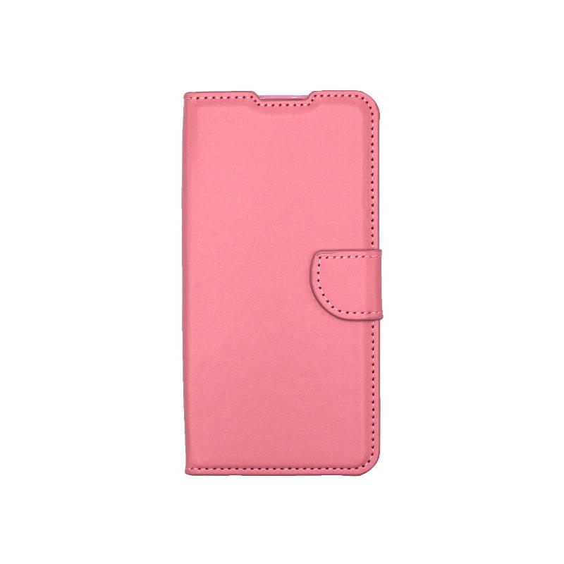 Θήκη Xiaomi Redmi 9 Wallet Ροζ