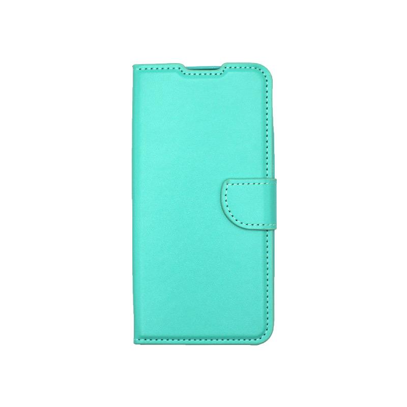 Θήκη Xiaomi Redmi 9 Wallet Τιρκουάζ