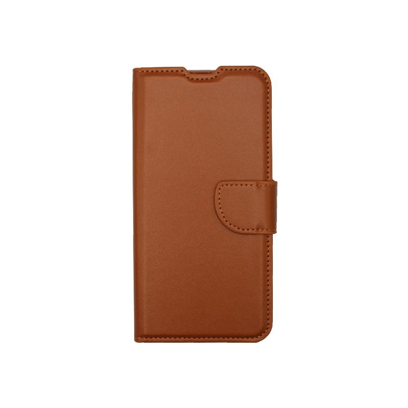Θήκη Samsung Galaxy A10 / M10 Wallet Καφέ