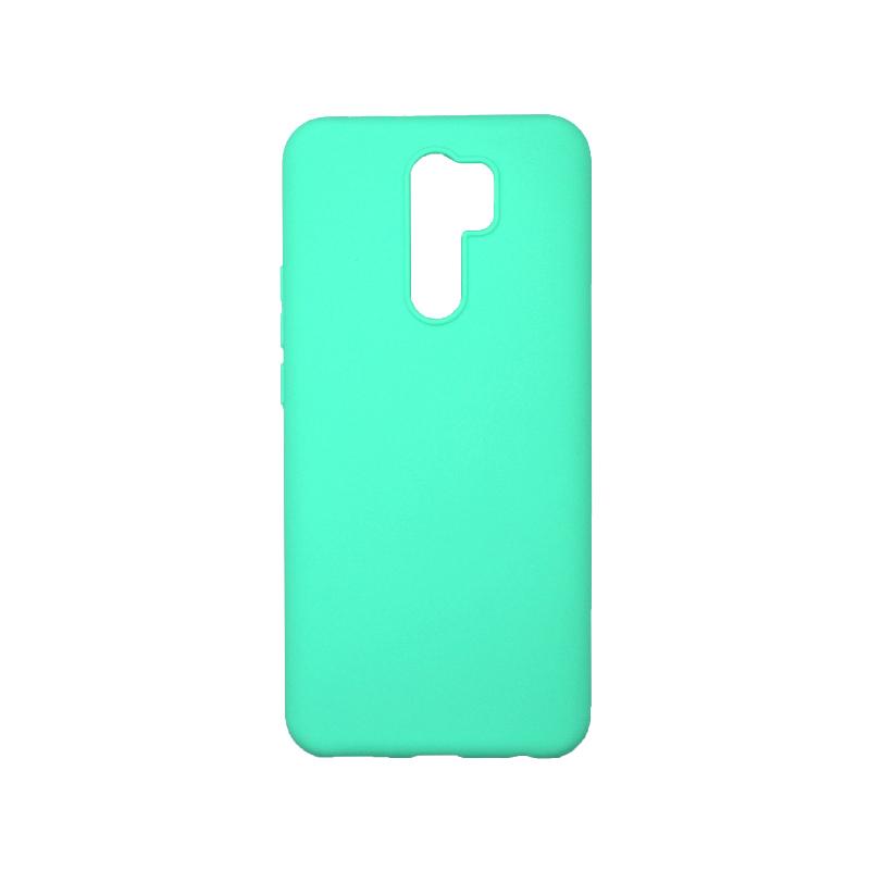 Θήκη Xiaomi Redmi 9 Σιλικόνη Τιρκουάζ