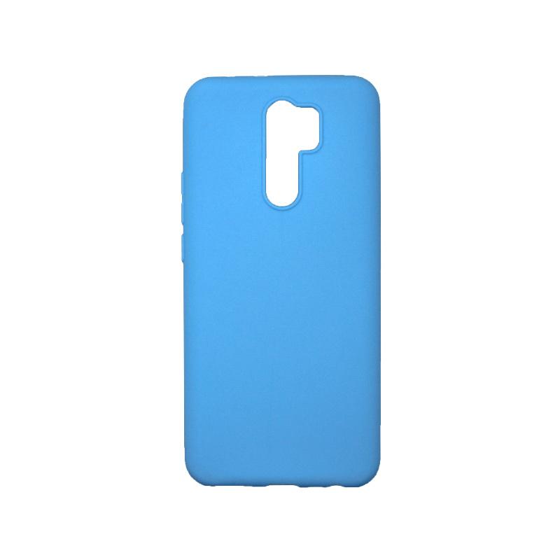 Θήκη Xiaomi Redmi 9 Σιλικόνη Γαλάζιο