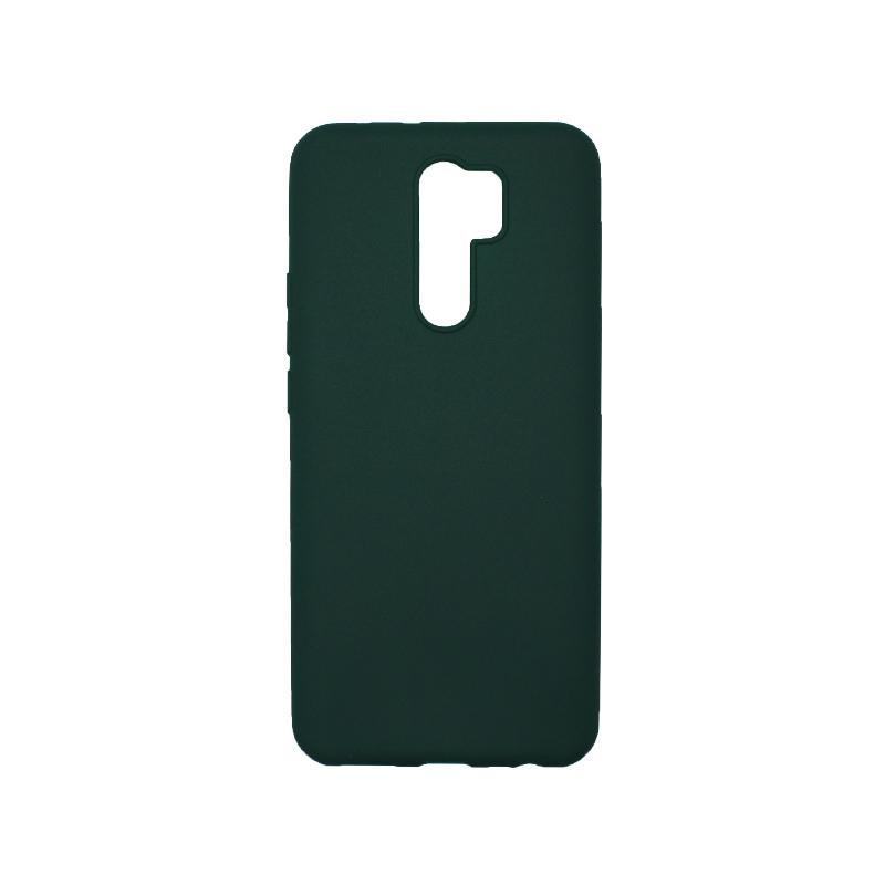 Θήκη Xiaomi Redmi 9 Σιλικόνη Πράσινο