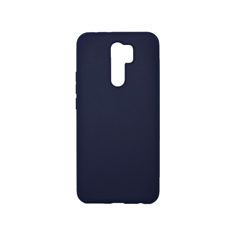 Θήκη Xiaomi Redmi 9 Σιλικόνη Σκούρο Μπλε