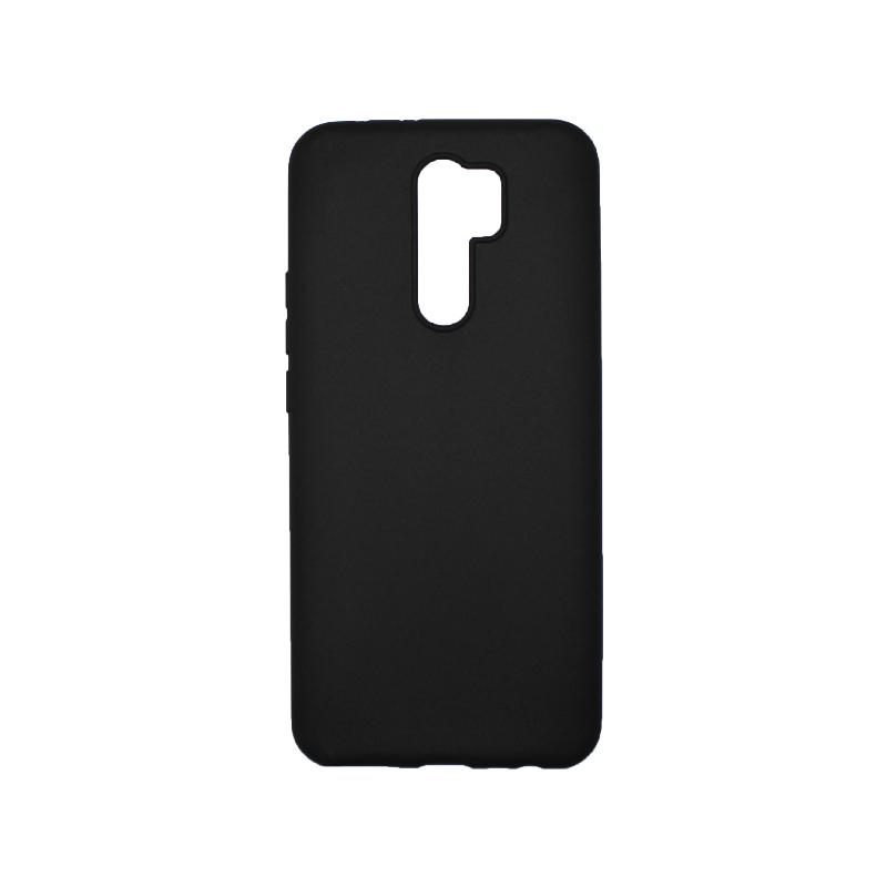 Θήκη Xiaomi Redmi 9 Σιλικόνη Μαύρο