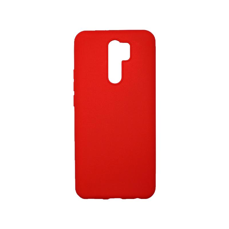 Θήκη Xiaomi Redmi 9 Σιλικόνη Κόκκινο