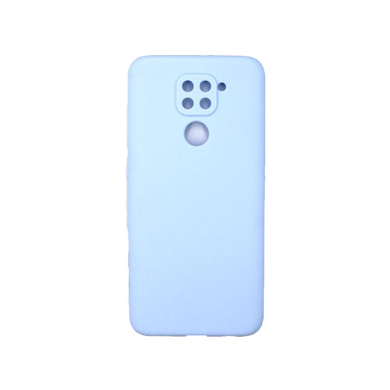 Θήκη Xiaomi Redmi Note 9 Σιλικόνη λιλά