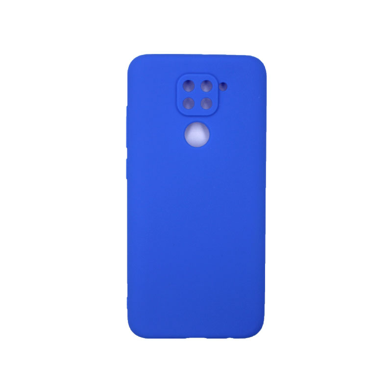Θήκη Xiaomi Redmi Note 9 Σιλικόνη μπλε ρουά