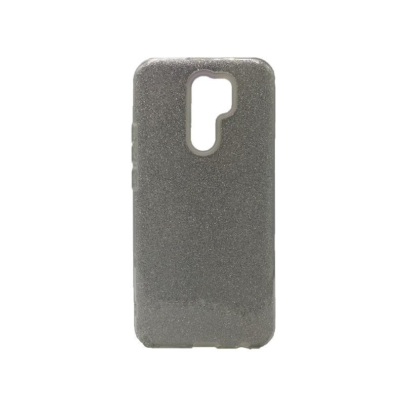 Θήκη Xiaomi Redmi 9 Glitter ασημί