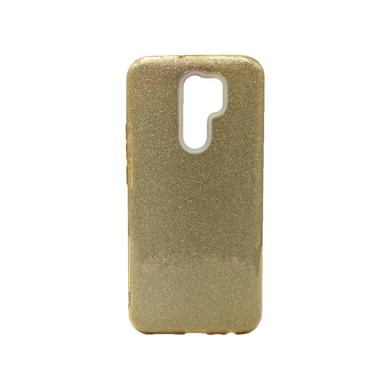 Θήκη Xiaomi Redmi 9 Glitter χρυσό