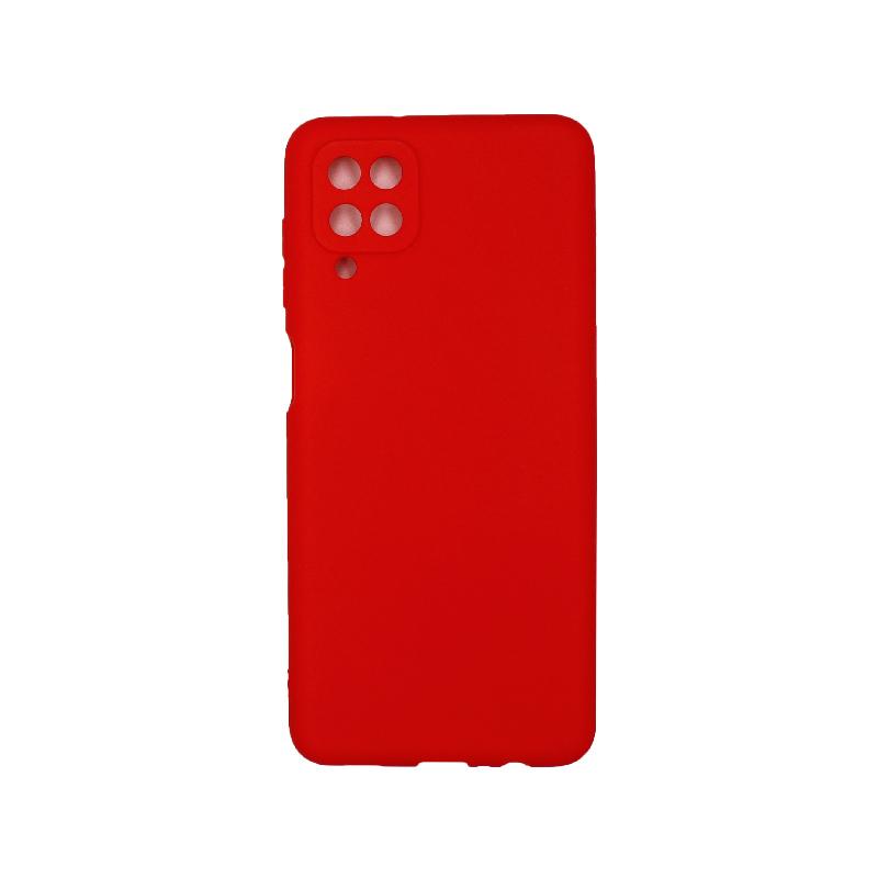 Θήκη Samsung Galaxy A12 Σιλικόνη κόκκινο