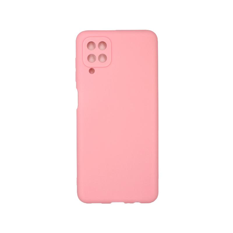 Θήκη Samsung Galaxy A12 Σιλικόνη απαλό ροζ