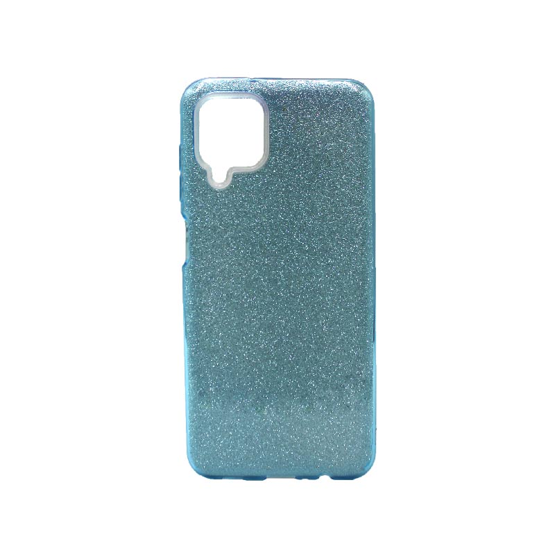 Θήκη Samsung Galaxy A12 Glitter γαλάζιο
