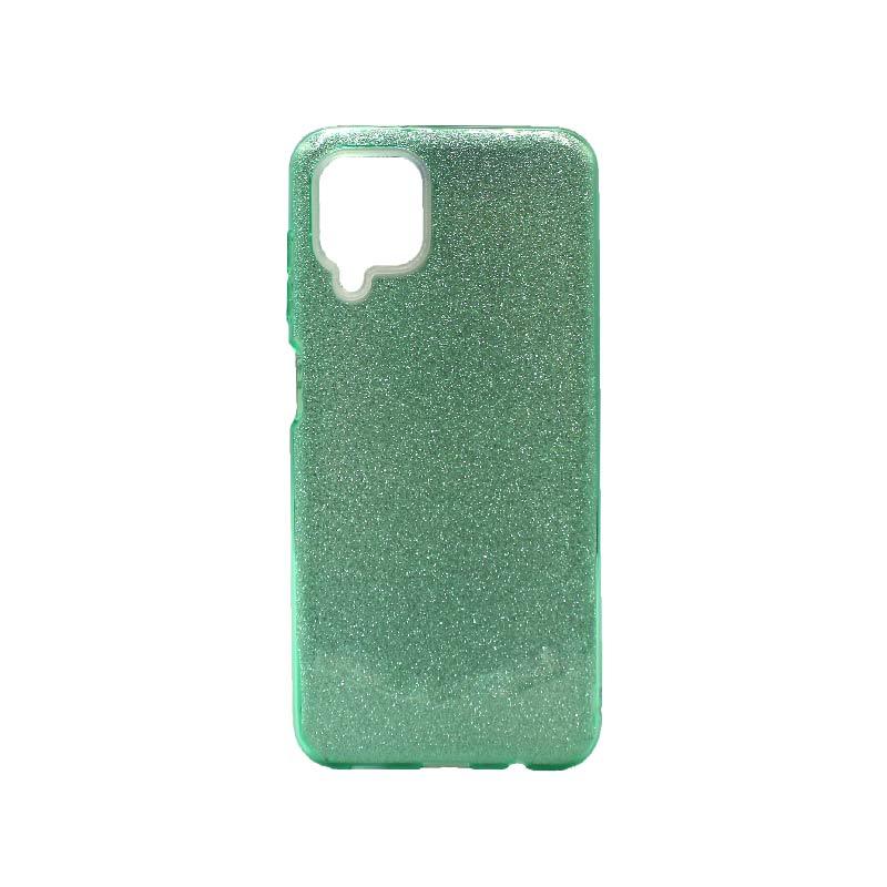 Θήκη Samsung Galaxy A12 Glitter τιρκουάζ
