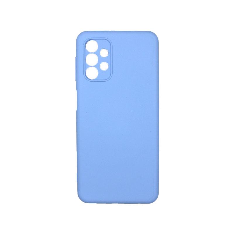 Θήκη Samsung Galaxy A32 5G Silky and Soft Touch Silicone λιλά 1