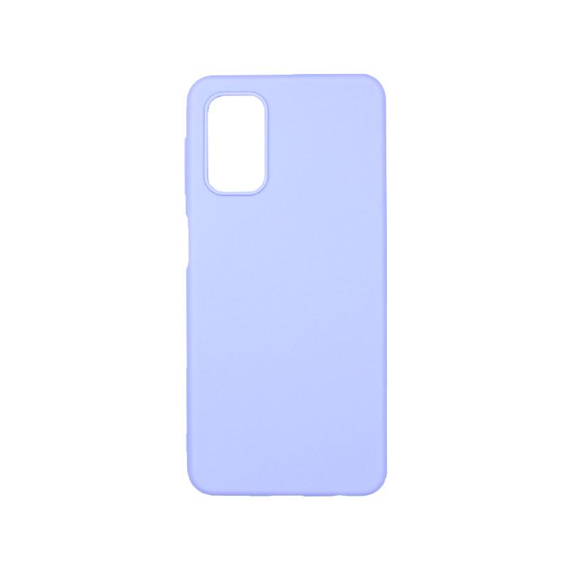 Θήκη Samsung Galaxy A32 5G Σιλικόνη μωβ