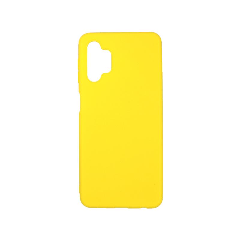 Θήκη Samsung Galaxy A32 5G Σιλικόνη κίτρινο