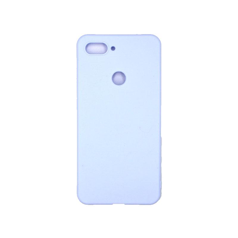 Θήκη Xiaomi Mi 8 Lite Σιλικόνη Μωβ