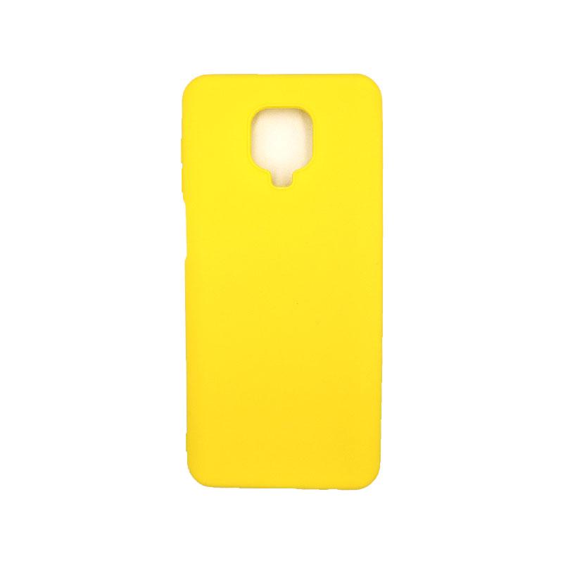 Θήκη Xiaomi Redmi Note 9S / Note 9 Pro / Note 9 Pro Max Σιλικόνη - Κίτρινο 2