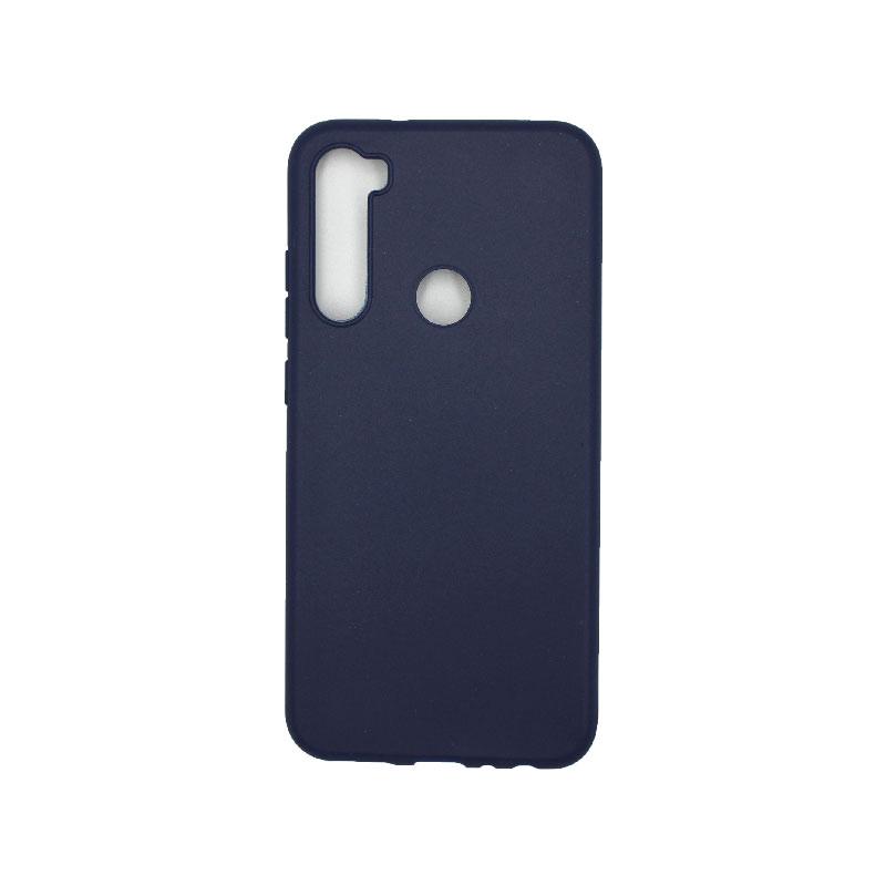 Θήκη Xiaomi Redmi Note 8 Σιλικόνη μπλε