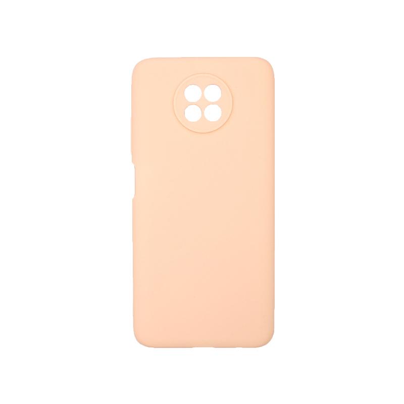 Θήκη Xiaomi Redmi Note 9T 5G Σιλικόνη μπεζ