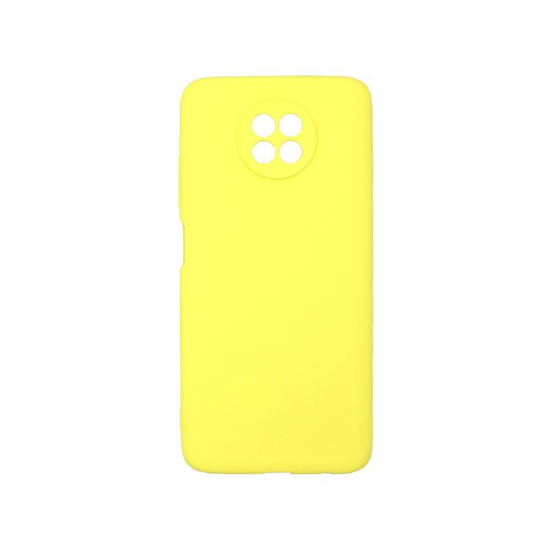 Θήκη Xiaomi Redmi Note 9T 5G Σιλικόνη κίτρινο