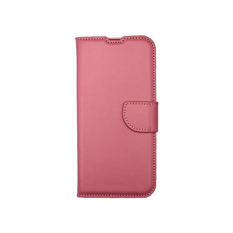 Θήκη Xiaomi Redmi Note 8 Wallet ροζ