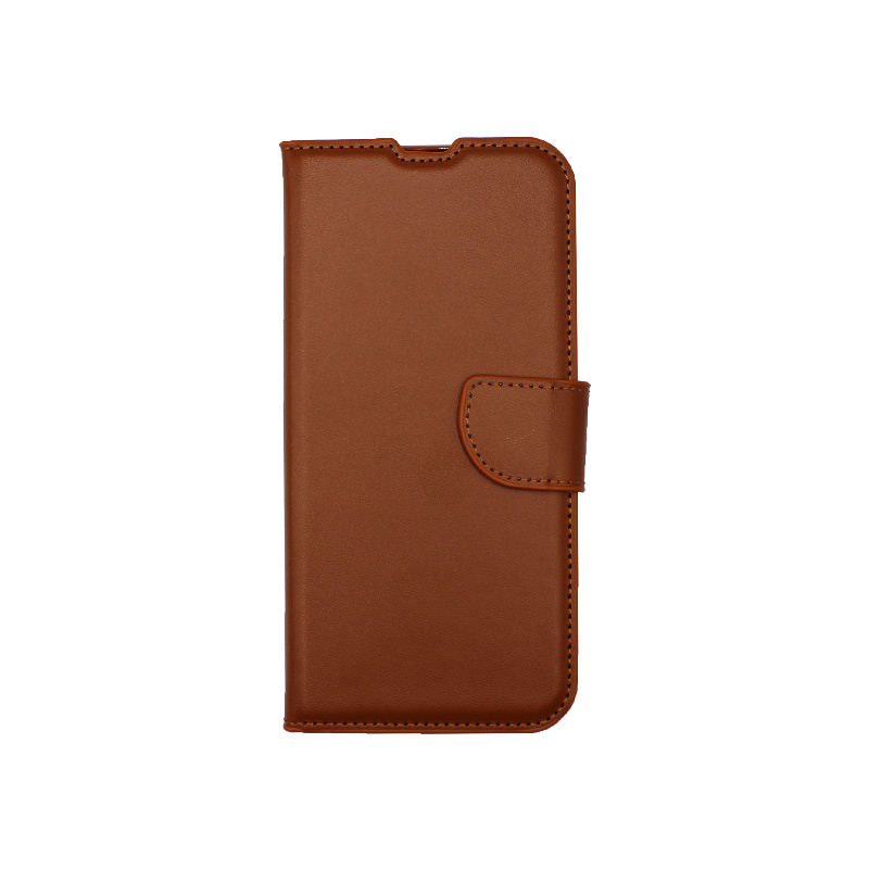 Θήκη Xiaomi Redmi Note 8 Wallet καφέ