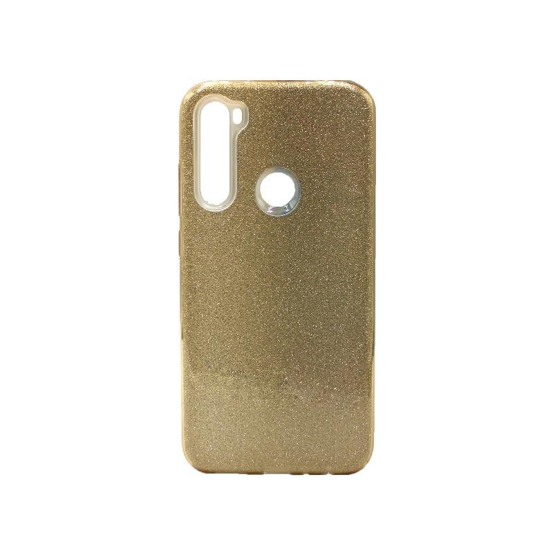 Θήκη Xiaomi Redmi Note 8 Glitter χρυσό