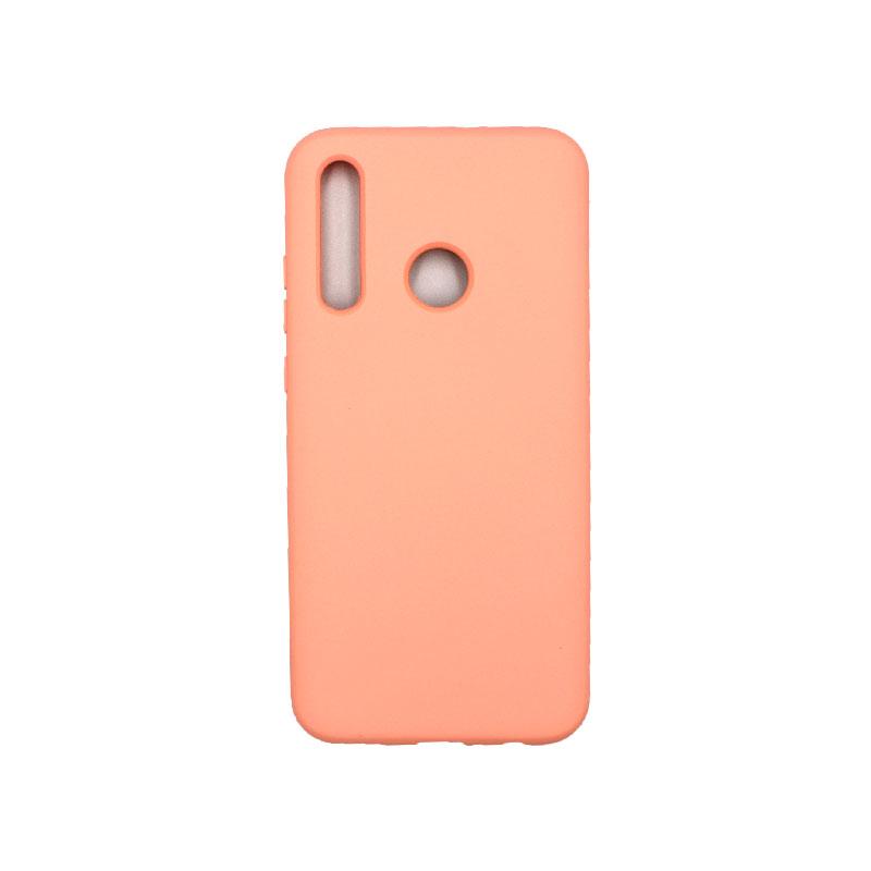 Θήκη Huawei P Smart 2019 Silky and Soft Touch Silicone πορτοκαλί 1
