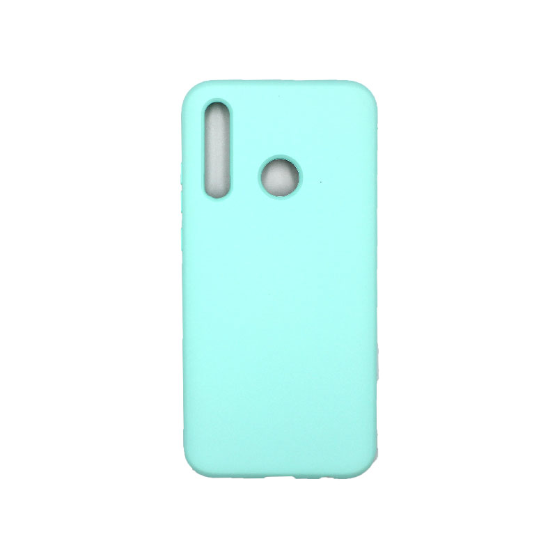 Θήκη Huawei P Smart 2019 Silky and Soft Touch Silicone τιρκουάζ 1