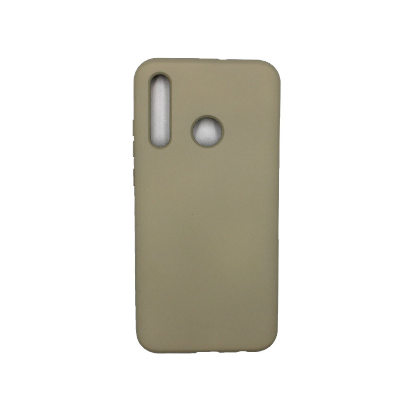 Θήκη Huawei P Smart 2019 Silky and Soft Touch Silicone γκρι 1