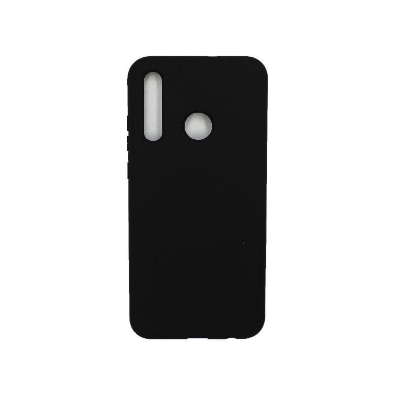 Θήκη Huawei P Smart 2019 Silky and Soft Touch Silicone μαύρο 1