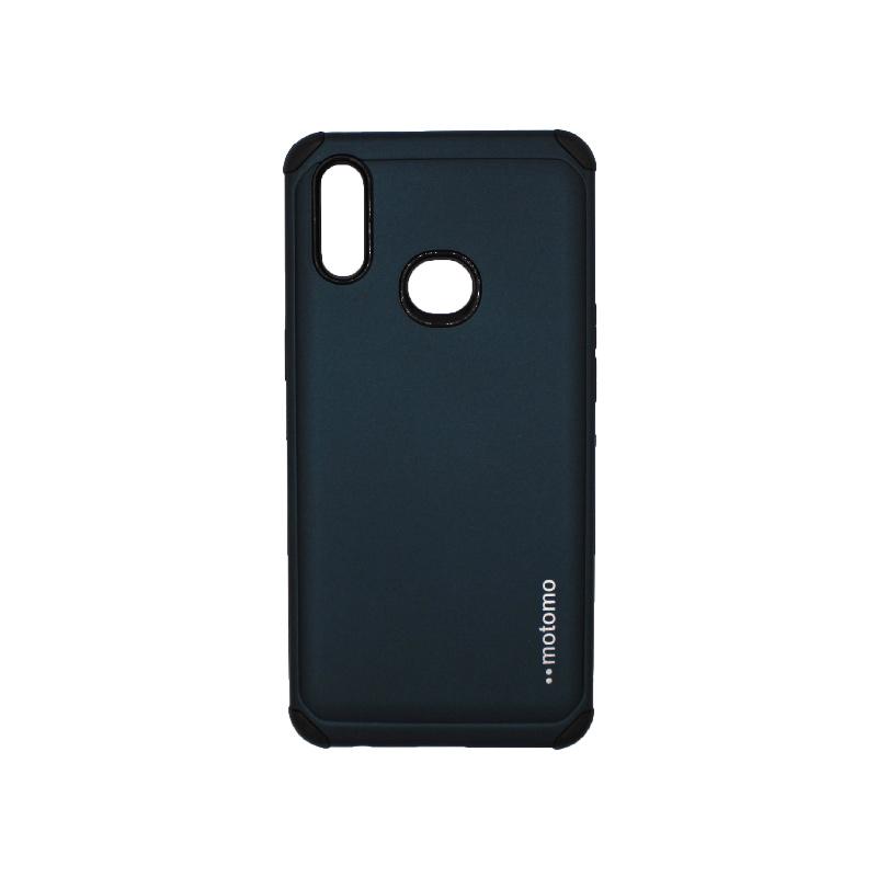 Θήκη Samsung Galaxy A10s Motomo σκούρο μπλε