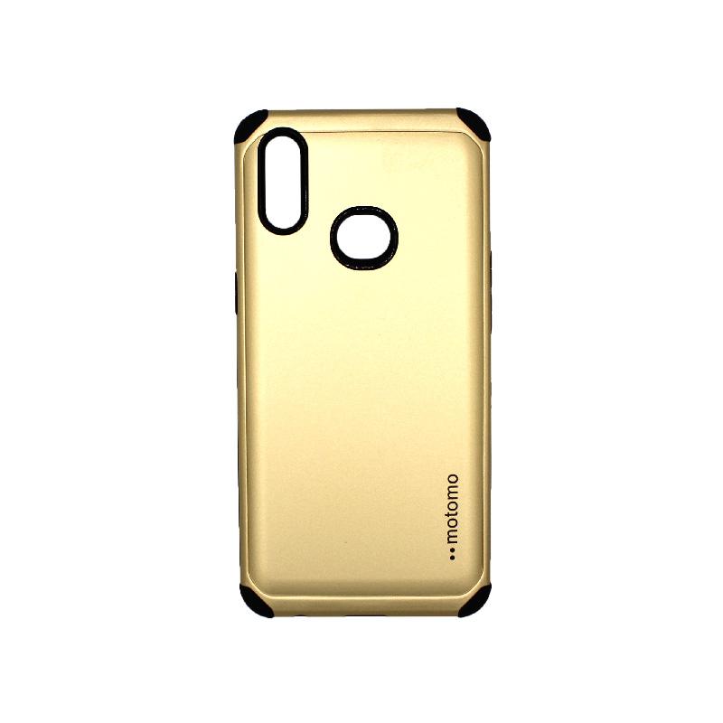 Θήκη Samsung Galaxy A10s Motomo χρυσό