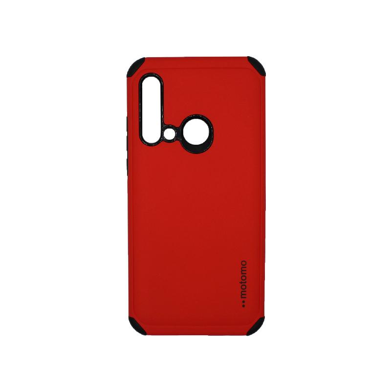 Θήκη Huawei P20 Lite 2019 Motomo κόκκινο