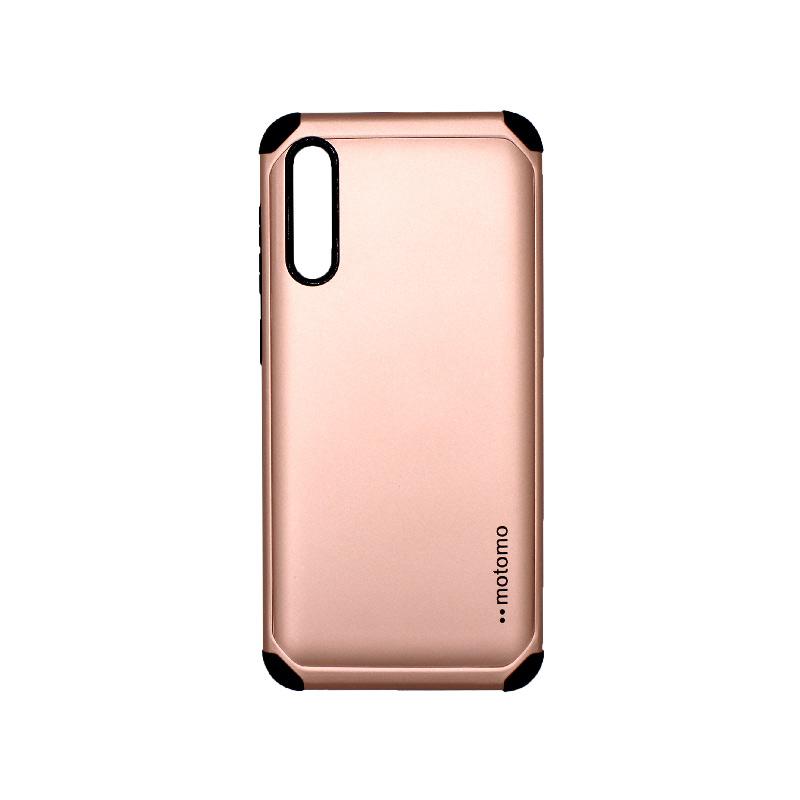 Θήκη Samsung Galaxy A50 / A30s / A50s Motomo ροζ χρυσό