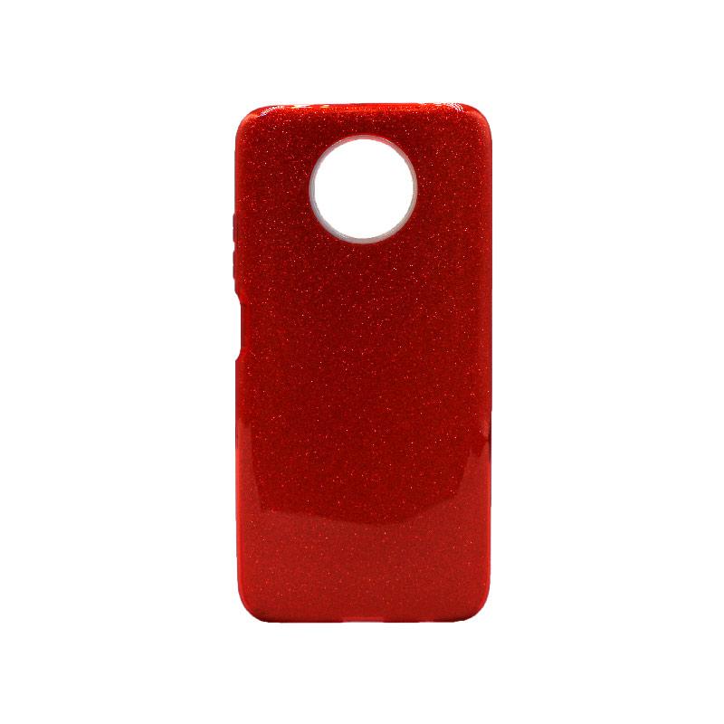 Θήκη Xiaomi Redmi Note 9T 5G Glitter κόκκινο