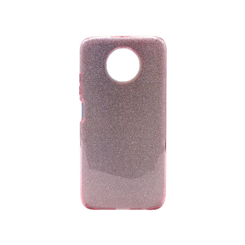 Θήκη Xiaomi Redmi Note 9T 5G Glitter ροζ