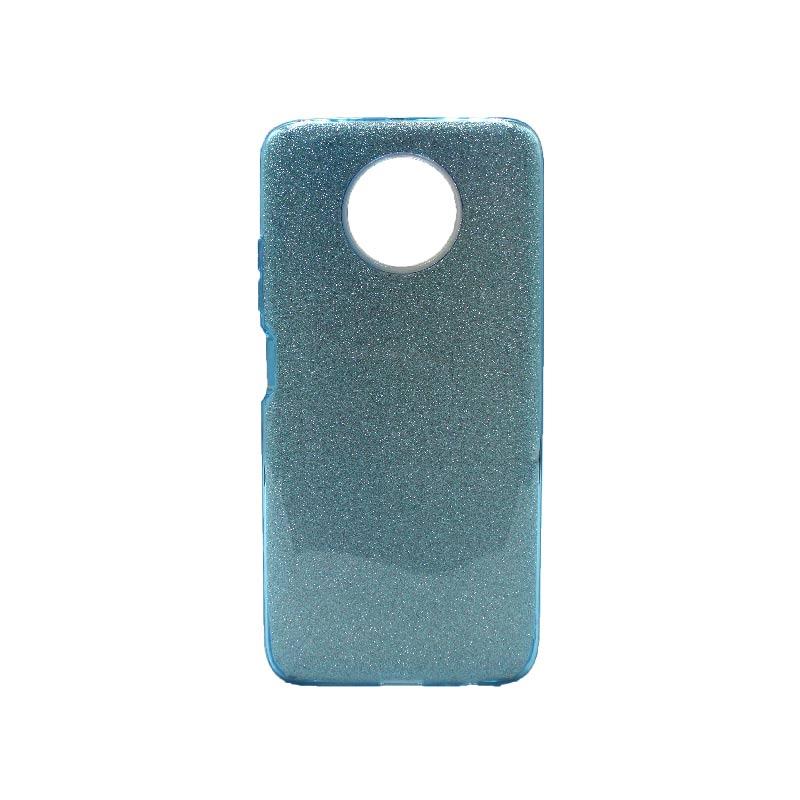 Θήκη Xiaomi Redmi Note 9T 5G Glitter γαλάζιο