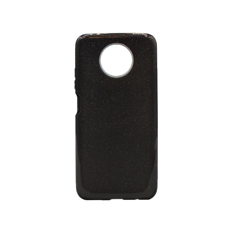 Θήκη Xiaomi Redmi Note 9T 5G Glitter μαύρο