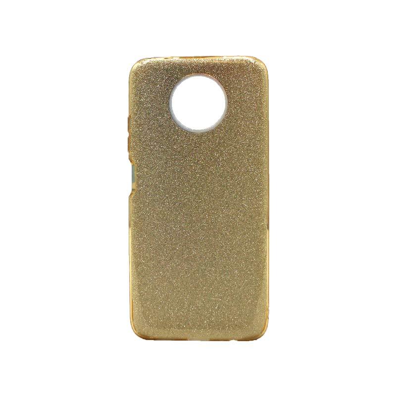 Θήκη Xiaomi Redmi Note 9T 5G Glitter χρυσό