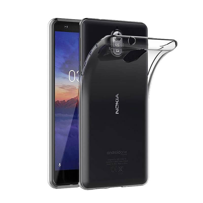 Θήκη Σιλικόνης Διάφανο Nokia 3.1