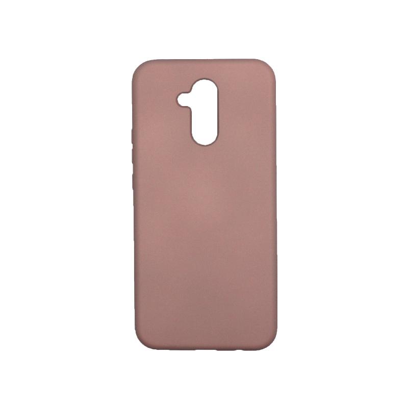 Θήκη Huawei Mate 20 Lite Silky and Soft Touch Silicone nude