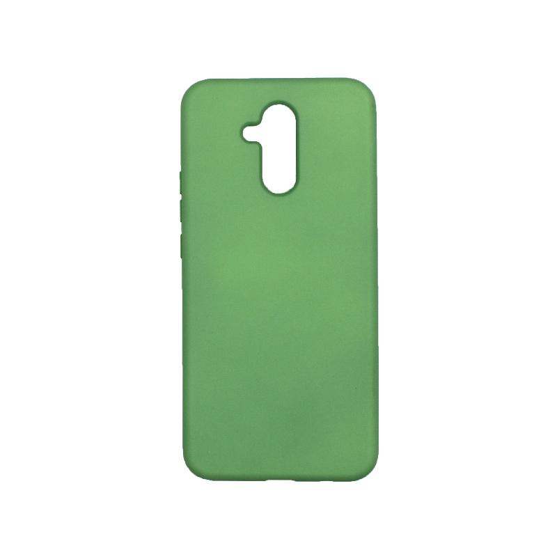 Θήκη Huawei Mate 20 Lite Silky and Soft Touch Silicone λαχανί
