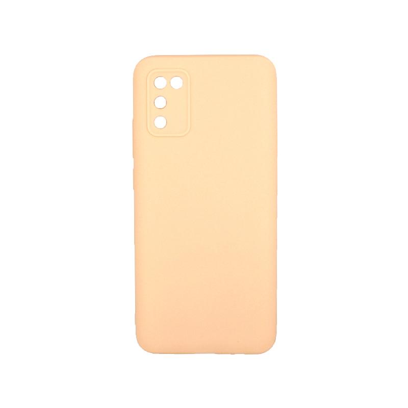 Θήκη Samsung Galaxy A02 / A02S Σιλικόνη μπεζ